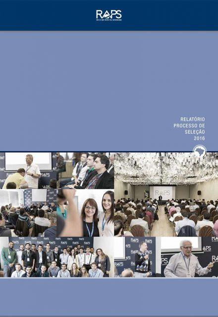 Relatório processo de seleção 2016