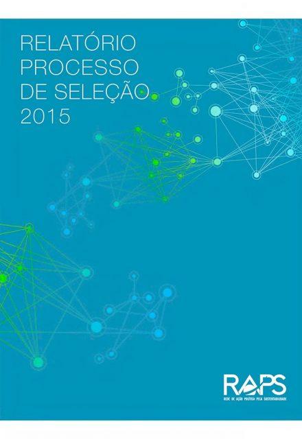 Relatório processo de seleção 2015