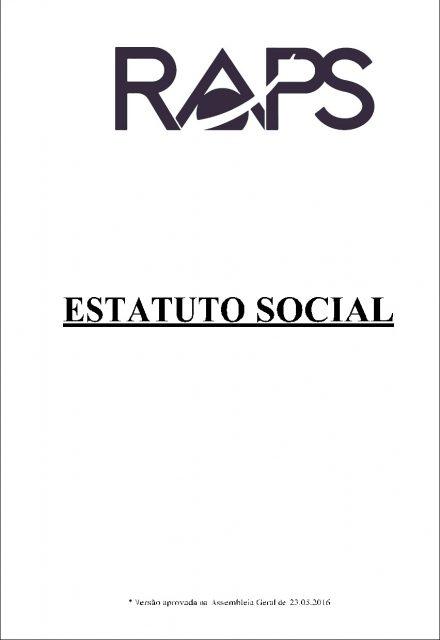 Estatuto Social RAPS 2018