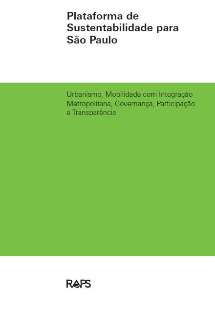 Plataforma de Sustentabilidade para São Paulo