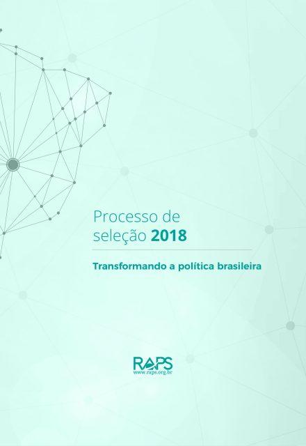 Relatório do Processo de Seleção 2018