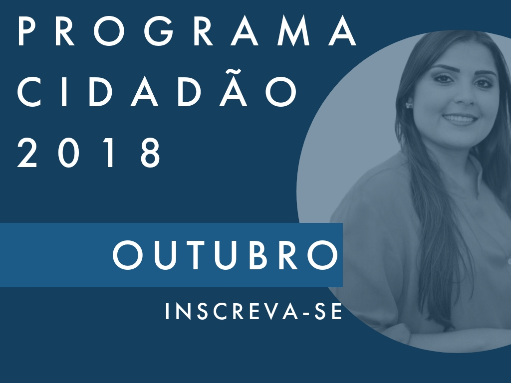 Sabrina Garcez (PTB-GO) é anfitriã do Programa Cidadão de outubro