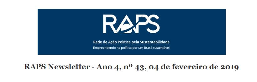 RAPS Newsletter - Ano 4, nº 43