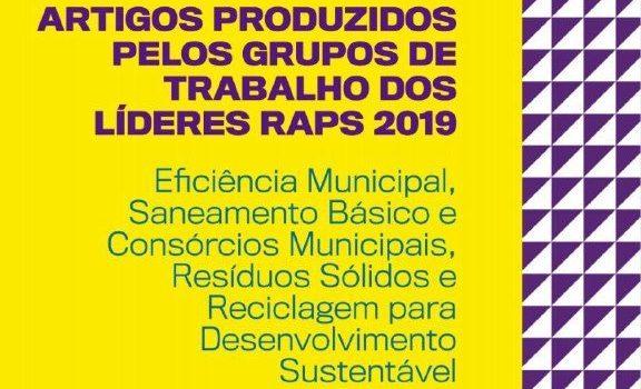 LíderesRAPS2019 assinam artigos sobre resíduos sólidos e consórcios municipais