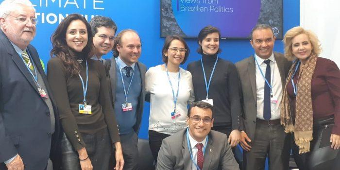 Debate sobre crise climática brasileira e encontros com líderes globais marcam participação da RAPS na COP25