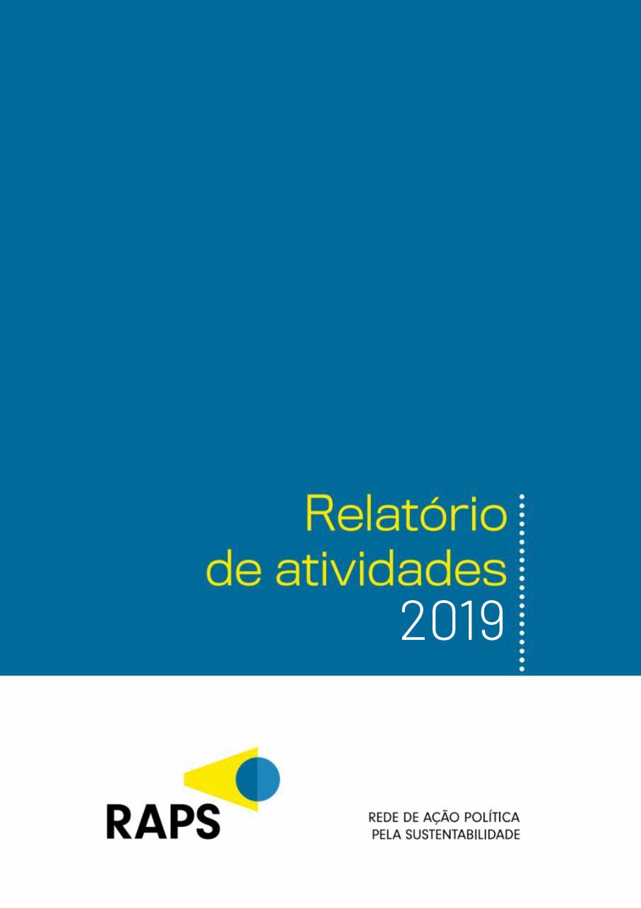 Relatório de atividades 2019 - RAPS