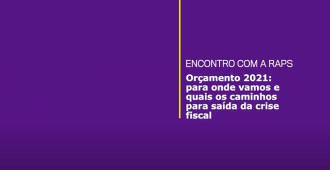 """""""O Brasil perdeu a capacidade de planejamento"""", avalia Felipe Salto em encontro da RAPS"""